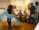 A community bombazo at Africaribe Cultural Center, Chicago